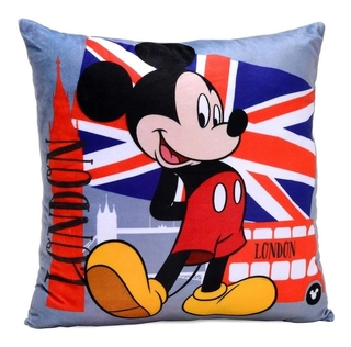 Almofada Disney Mickey London 273013 Mabruk 40 X 40 Cm