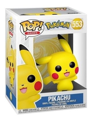 Pokemon Pikachu - Funko Pop #553