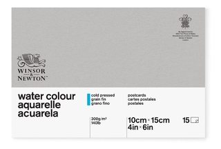 Bloco Aquarela Winsor & Newton Postcards 300g/m² 10x15cm