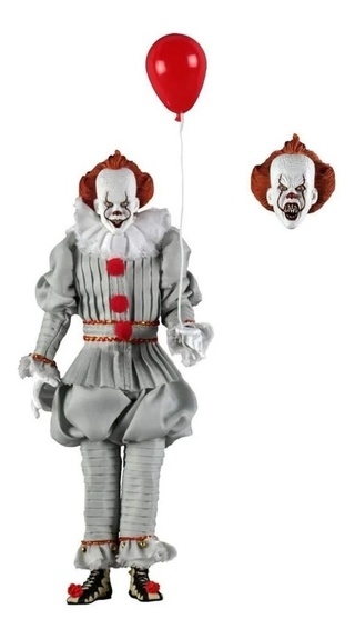 Pennywise 20th - 8 Pol Action Figure - It - Neca