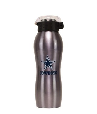 Nfl Squeeze Aluminio - Dallas Cowboys - 600 Ml - Nfl