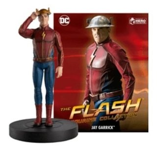 The Flash Tv Series - Jay Garrick 1/16 - Dc Comics Eaglemoss