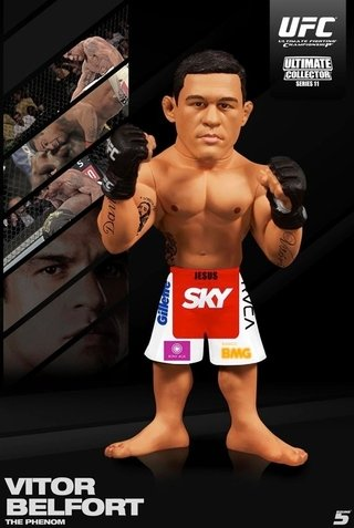 Vitor Belfort The Phenom Sky Ufc Round 5 Ultimate Collector