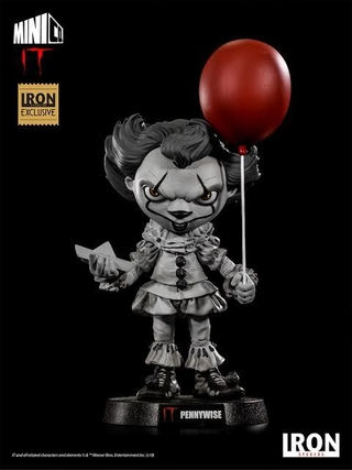 It Pennywise Deluxe Mini Co Iron Studios Exclusivo CCXP 2019