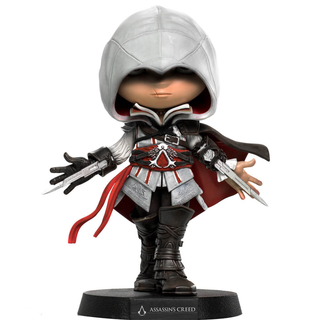 Boneco Ezio- Assassin´s Creed Mini Co Iron Studios