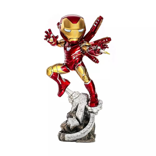 ESTÁTUA IRON MAN - AVENGERS: ENDGAME - MINICO FIGURES - MINI CO IRON STUDIOS