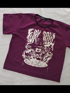 REMERA WITCH PURPURA - comprar online