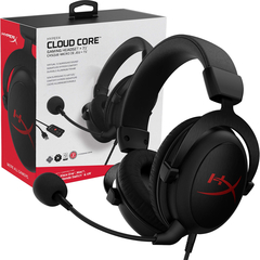 Auriculares Gamer Hyperx Cloud Core Sonido 7.1 Pc Ps4 Xbox