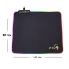 Mouse Pad Gamer Gx Gaming 300s Pro Rgb Fusion Flexible Usb - comprar online