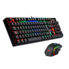 Kit Gamer Redragon K551 Ba Teclado Mecanico Blue + Mouse Rgb