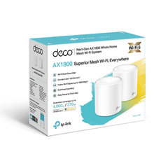 Router Access Point Tp Link Deco X20 Mesh Wi Fi X 2 Unidades - Tendex