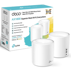 Router Access Point Tp Link Deco X20 Mesh Wi Fi X 2 Unidades