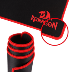 Mouse Pad Gamer Redragon Suzaku P003 Base Antideslizante Pc en internet