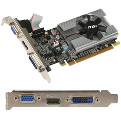 Placa De Video Msi Nvidia Geforce N210 1gb Ddr3 Pci E 2.0 - tienda online