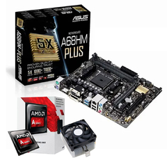 Imagen de Pc Armada Mother Asus + Cpu Amd A6 + 8 Gb Ram + Ssd 240 Gb