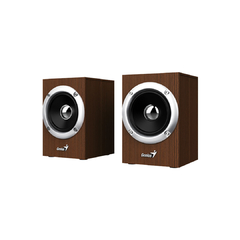 Parlantes Genius Sp Hf280 Wooden Madera Estereo Usb 6w Pc - Tendex
