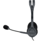 Auriculares Logitech Headset H111 Stereo Con Microfono 3.5 Pc