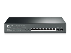 Switch Tp Link T1500g 10mps 8 Puertos Poe+ Gigabit Jetstream - comprar online