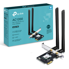 Placa De Red Tp Link Archer T5e Wi Fi Dual Band + Bluetooth