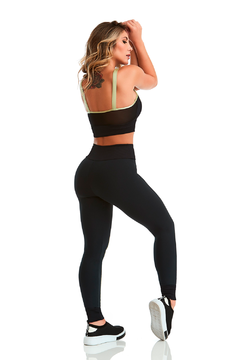 TOP CROPPED EMANA EMOTION - CAJU BRASIL - Jump Fitness