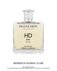Perfume HD One For Men Helene Deon - HELENE DEON COSMÉTICOS