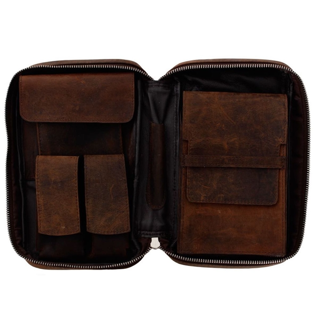 Porta charutos NERONE Travel Case couro estonado PD