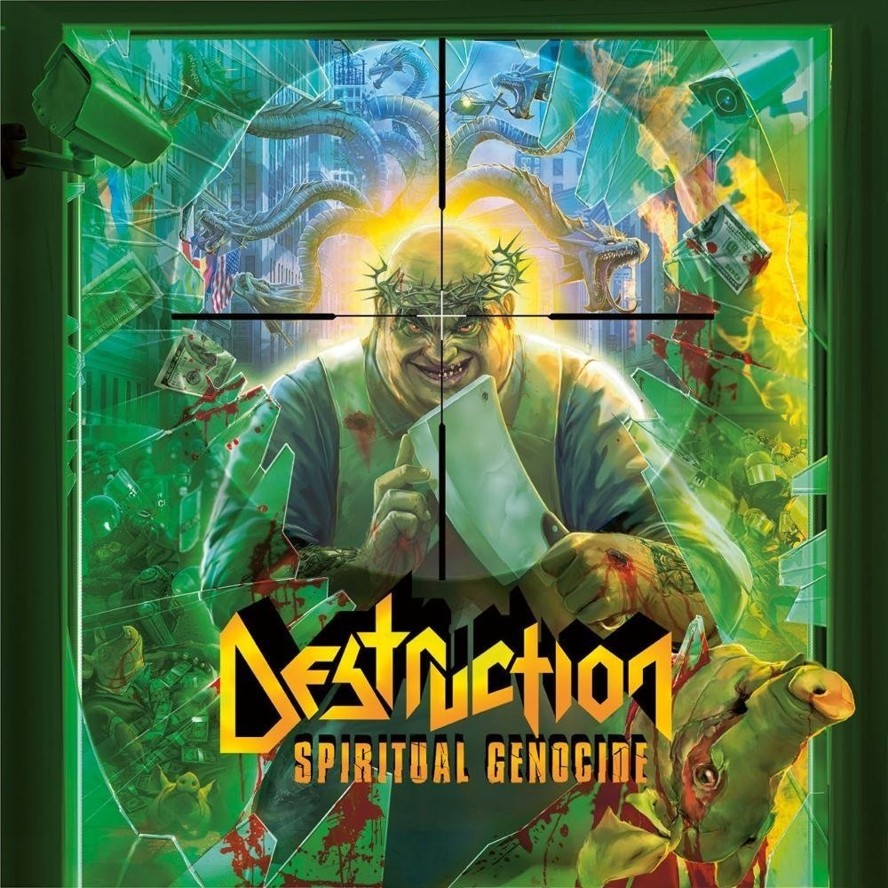 DESTRUCTION - SPIRITUAL GENOCIDE - VALHALL MUSIC
