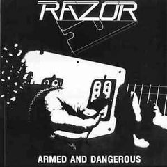 RAZOR - ARMED AND DANGEROUS (IMP/RU) (BOOTLEG)