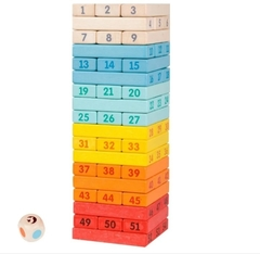 Jenga torre colores classic world - comprar online
