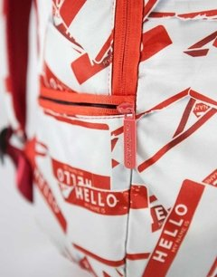 Mochila Sprayground Hello My Name Is - KITCH TECH