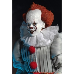 "Pennywise 8"" Clothed Figure - IT (2017) - NECA - Geek Spot"