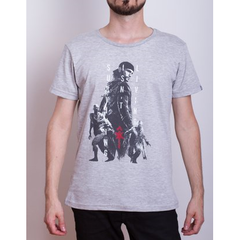 Remera Days Gone Gris