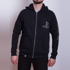 Hoodie PS Basic Black (PlayStation Studios)