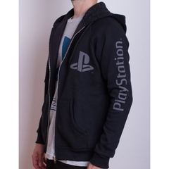 Hoodie PS Basic Black (PlayStation Studios) - Geek Spot