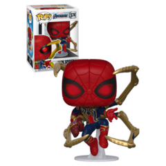 Funko Iron Spider W/Gauntlet (574) - Endgame (Marvel)