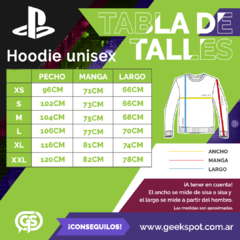 Imagen de Hoodie PS Basic Black (PlayStation Studios)