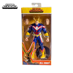 "All Might (7"") My Heroe Academia - McFarlane - Geek Spot"