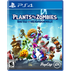 PS4 Plants vs Zombies Battle For Neighborville
