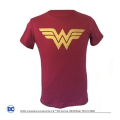 Remera Wonder Woman Bordo
