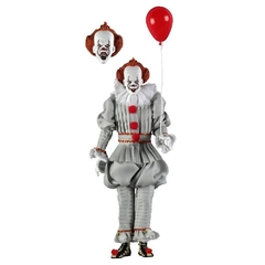 "Pennywise 8"" Clothed Figure - IT (2017) - NECA"
