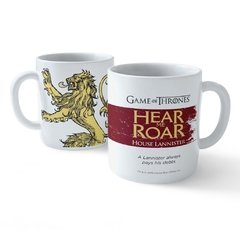 Taza Motto House Lannister Blanca