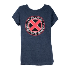 Remera X-Men Institute Mujer