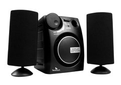 Caixa Multimídia 2.1 Com Subwoofer 9w Rms Bivolt Ms2101 Kit