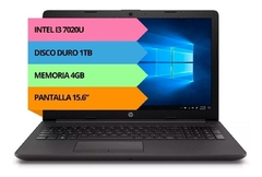 "NOTEBOOK HP CORE I3 250G7 7020U 15"" 8GB-1TB - comprar online"
