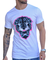 Camiseta Long Line Black Panther
