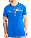 Camiseta Long Line  Cupid Skull