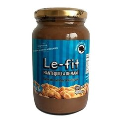 MANTEQUILLA DE MANÍ LE-FIT CON CHOCOLATE