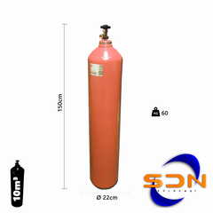 Cilindro 10m³ 51Lts. 38kg R075. D244 P/gas Sello Iram - comprar online
