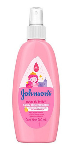 Gotas De Brillo Loción Desenredante P Cabellos Johnson 200ml
