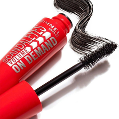 Máscara Pestañas Scandaleyes Volume On Demand Rimmel Black - comprar online